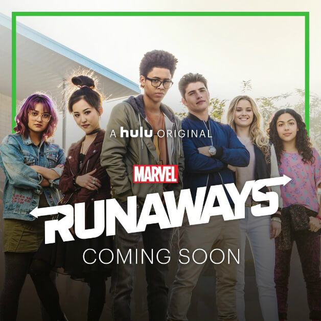 cartel Runaways Marvel serie Hulu