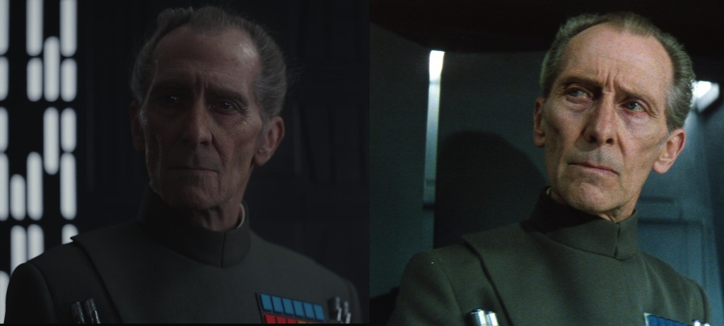 Peter Cushing CGI