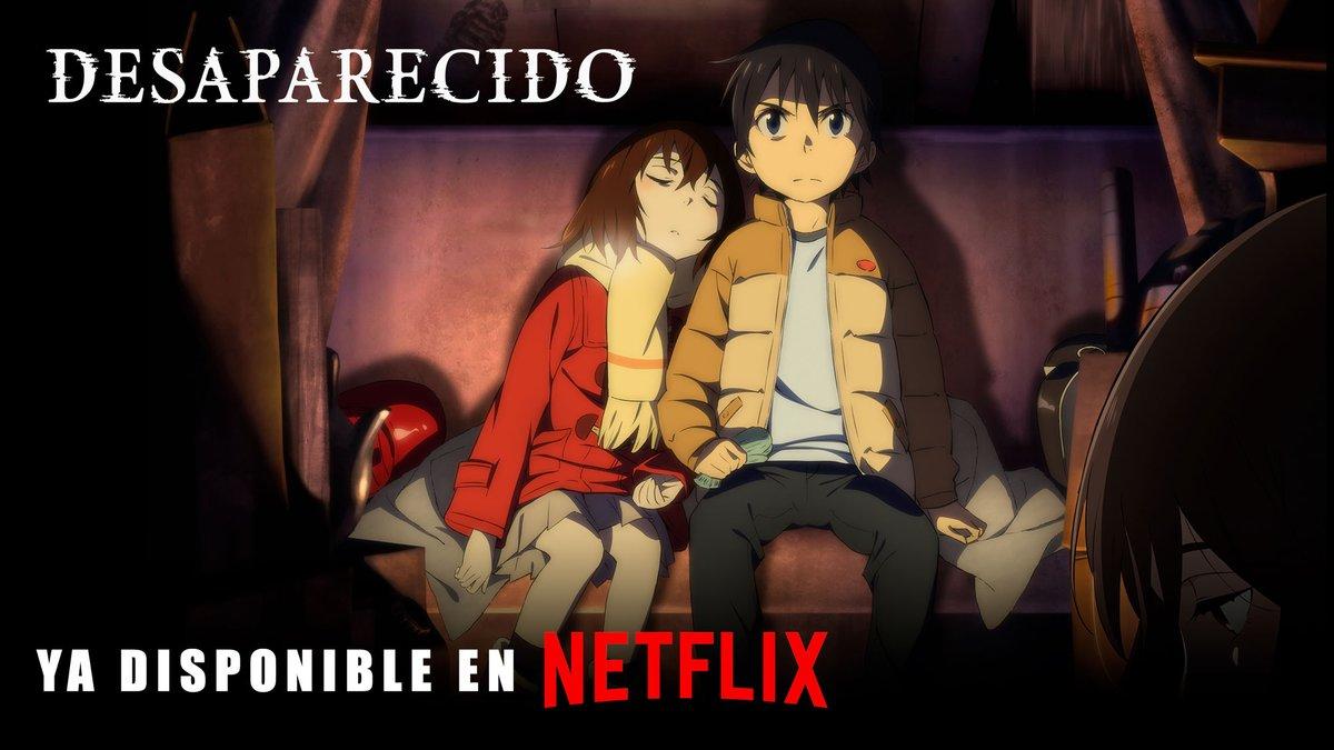 desaparecido Netflix
