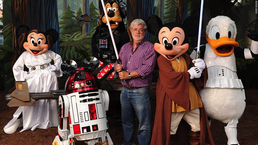 Star Wars George Disney