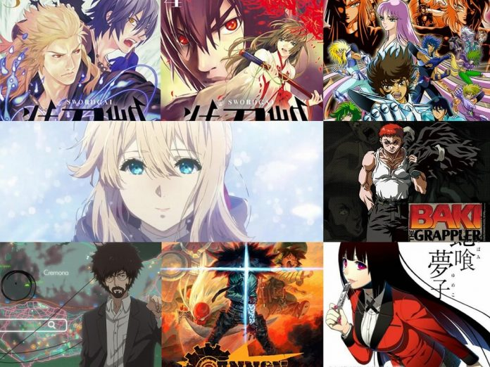 Los animes 2018 que se estrena en Netflix