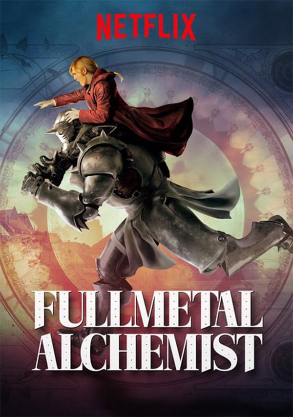 Resultado de imagen para fullmetal alchemist netflix poster