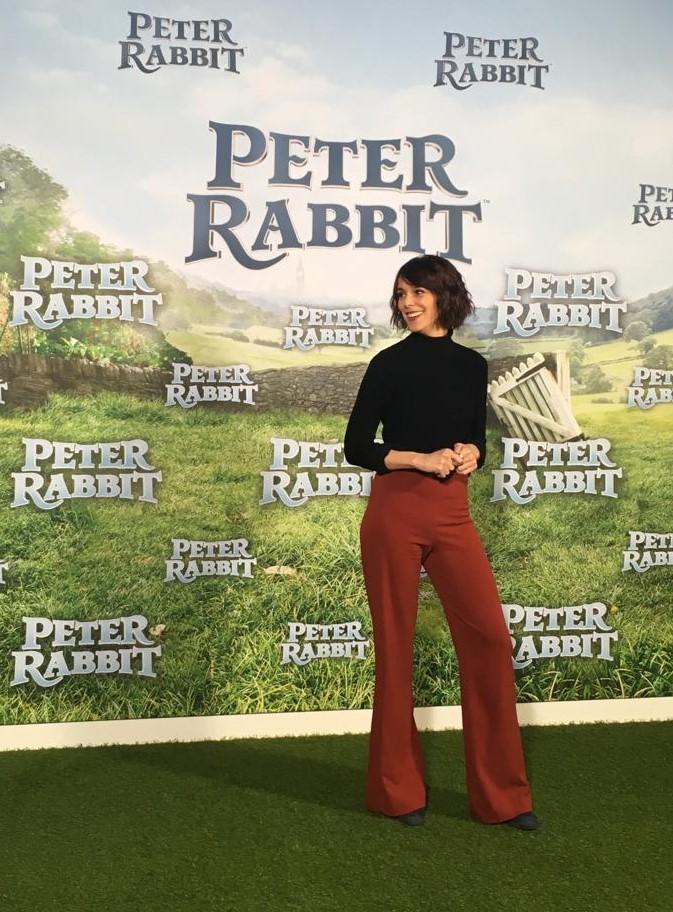 Belen Cuesta doblaje Peter Rabbit Pelusa