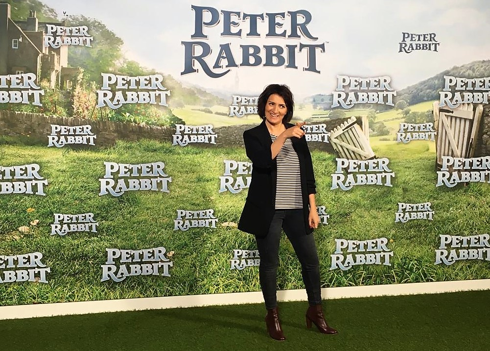 Silvia Abril 2018 Doblaje Peter Rabbit