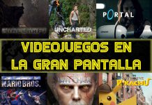 Minecraft Uncharted Portal Super Mario Witcher Pikachu Movies Peliculas